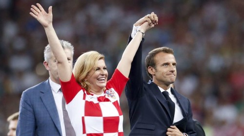 Croatian President becomes the face of Croatian World Cup 2018