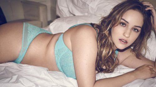 Gigi & Bella Hadid's plus-size cousin Joann van den Herik Models for Lingerie