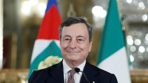 Italian PM Mario Draghi & his new government wins vote of confidence in Parliament.