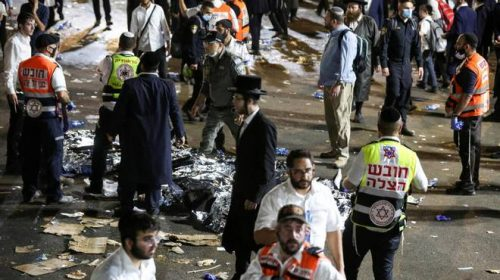 44 Killed And Hundreds Hurt In Stampede During Lag BaOmer Festival at Mount Meron in Israel