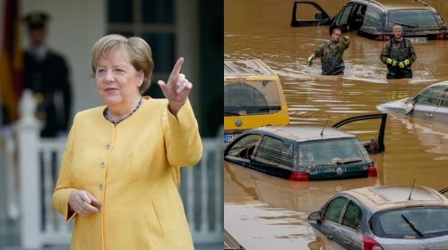 Germany's Chancellor Angela Merkel defends warning systems in wake of deadly floods