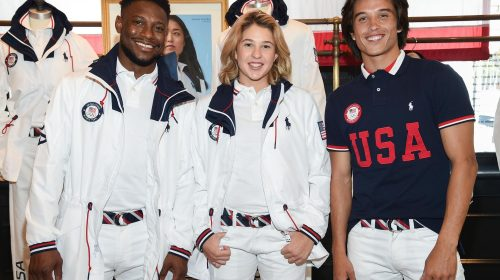 Ralph Lauren unveils  State-of-the-Art cooling technology for Team USA in Olympics